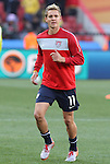 18 JUN 2010: Stuart Holden (USA). The Slovenia National Team played the United States National Team to a 2-2 at Ellis Park Stadium in Johannesburg, South Africa in a 2010 FIFA World Cup Group C match.