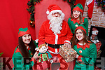 Elves off the Shelf and helping Santa, Linda O'Connor, Julie Foley and Rachael Killgallan in the John Mitchels GAA Complex on Saturday.