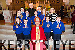 6th class students of Kilmurry NS were Confirmed at St Stephen and St John, Castleisland on Friday 27 February  By Bishop Ray Browne. Pictured also Tres Kearney and Monsignor FR O Riordan