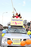 King Fisher of the Drogheda Senior Citizens at the 2011 St.Patrick's Day Parade in Drogheda...(Photo credit should read Jenny Matthews/www.newsfile.ie)....This Picture has been sent you under the conditions enclosed by:.Newsfile Ltd..The Studio,.Millmount Abbey,.Drogheda,.Co Meath..Ireland..Tel: +353(0)41-9871240.Fax: +353(0)41-9871260.GSM: +353(0)86-2500958.email: pictures@newsfile.ie.www.newsfile.ie.