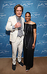 "Michael Shannon and Audra McDonald during the Opening Night After Party for ""Frankie and Johnny in the Clair de Lune"" at the Brasserie 8 1/2 on May 29, 2019  in New York City."