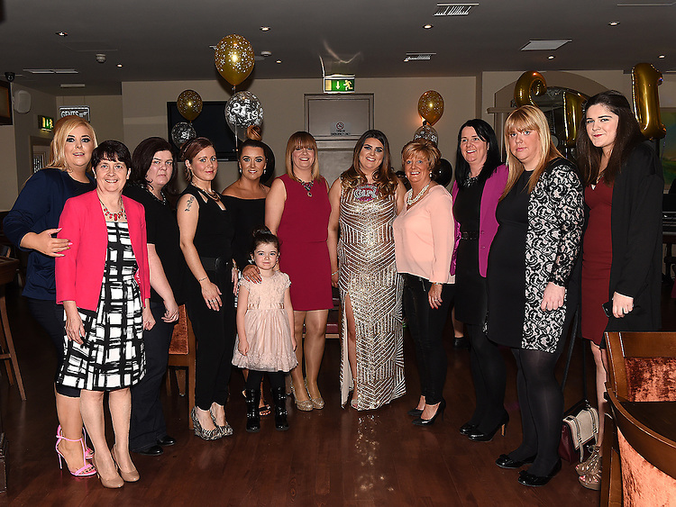 Caoimhe daly celebrating her 21st birthday in The Thatch with her family. Photo:Colin Bell/pressphotos.ie