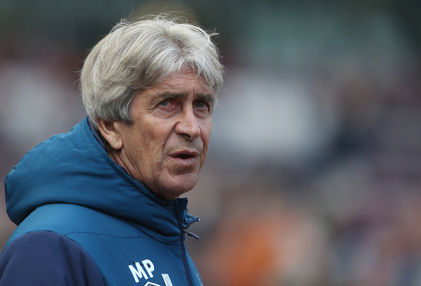 West Ham United manager Manuel Pellegrini <br /> <br /> Photographer Rob Newell/CameraSport<br /> <br /> The Premier League - West Ham United v Southampton - Saturday 4th May 2019 - London Stadium - London<br /> <br /> World Copyright © 2019 CameraSport. All rights reserved. 43 Linden Ave. Countesthorpe. Leicester. England. LE8 5PG - Tel: +44 (0) 116 277 4147 - admin@camerasport.com - www.camerasport.com