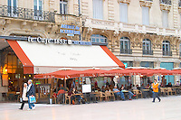 The cafe Le Cafe 1893. Montpellier. Languedoc. France. Europe.
