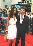 Simon Cowell and Terri Seymour.at American Idol 3 Finale, Kodak Theater in Hollywood, May 26th 2004.