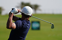 Jack Singh-Brar (ENG) on the driving range during the Preview of the Saudi International at the Royal Greens Golf and Country Club, King Abdullah Economic City, Saudi Arabia. 28/01/2020<br /> Picture: Golffile | Thos Caffrey<br /> <br /> <br /> All photo usage must carry mandatory copyright credit (© Golffile | Thos Caffrey)