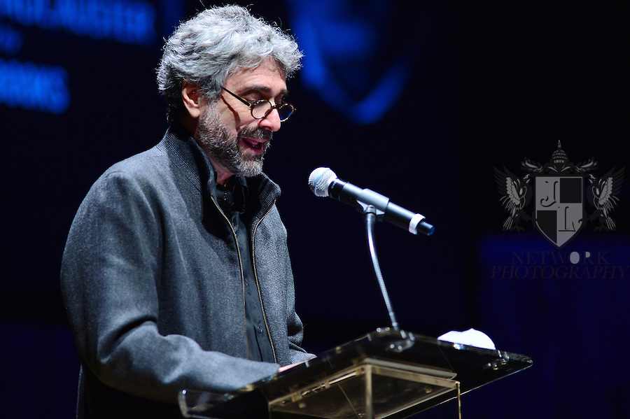 MIAMI, FL - FEBRUARY 21: Mitchell Kaplan hosts A Evening with Paul Auster & friends! MUSIC, MAGIC & THE MUSE: for his latest novel, '4 3 2 1' features Singer Sophie Auster and Magicians David Blaine at Adrienne Arsht Center - Knight Concert Hall on February 21, 2017 in Miami, Florida.  ( Photo by Johnny Louis / jlnphotography.com )