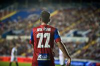 VALENCIA, SPAIN - SEPTEMBER 11: Jose Mari during BBVA LEAGUE match between Levante U.D. And Sevilla C.F. at Ciudad de Valencia Stadium on September 11, 2015 in Valencia, Spain
