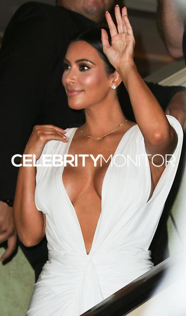 LAS VEGAS, NV, USA - OCTOBER 25: Kim Kardashian West arrives at her 34th Birthday Celebration held at TAO Nightclub at The Venetian Las Vegas on October 25, 2014 in Las Vegas, Nevada, United States. (Photo by Xavier Collin/Celebrity Monitor)