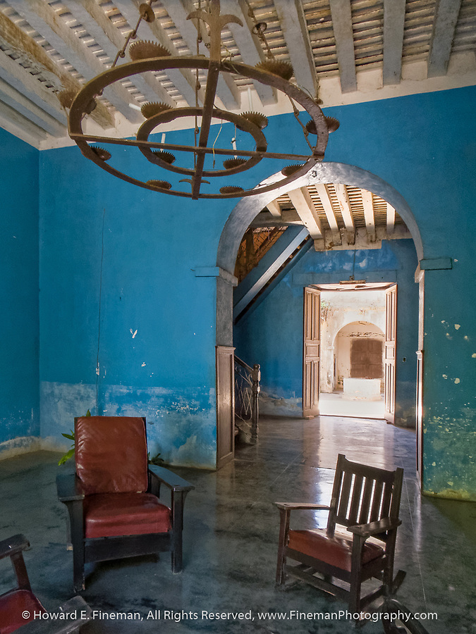 Foyer of former Atkinson Sugarcane plantation manor