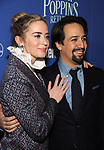 Emily Blunt and Lin Manuel-Miranda attends a screening of 'Mary Poppins Returns' hosted by The Cinema Society at SVA Theater on December 17, 2018 in New York City.