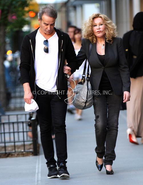 WWW.ACEPIXS.COM<br /> <br /> June 13 2015, New York City<br /> <br /> Socialite Jocelyn Wildenstein walks in Tribeca on June 13 2015 in New York City<br /> <br /> By Line: Nancy Rivera/ACE Pictures<br /> <br /> <br /> ACE Pictures, Inc.<br /> tel: 646 769 0430<br /> Email: info@acepixs.com<br /> www.acepixs.com