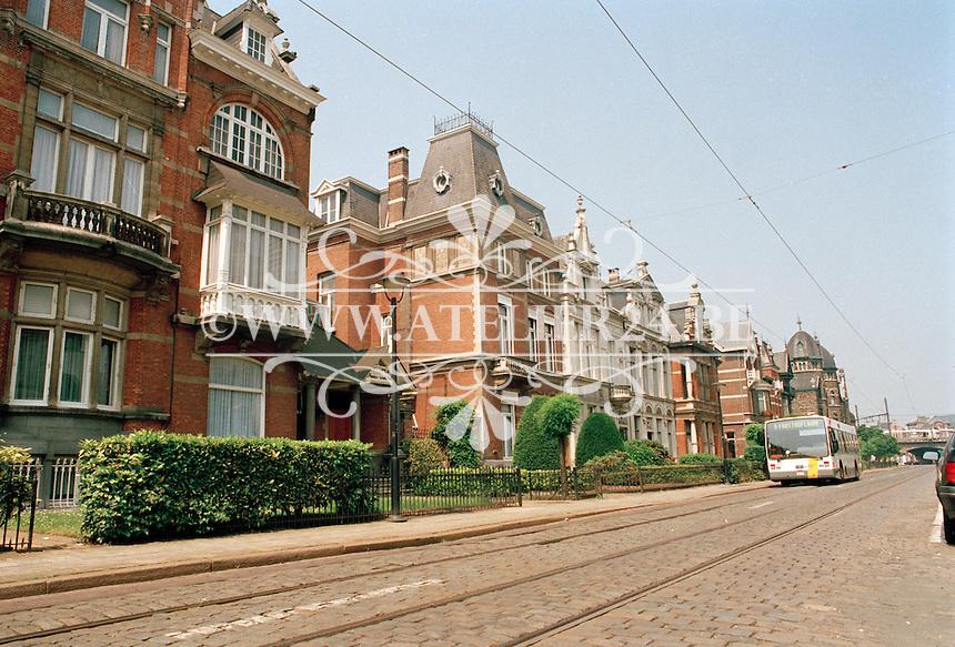 Juli 1994. Cogels Osylei in Antwerpen.