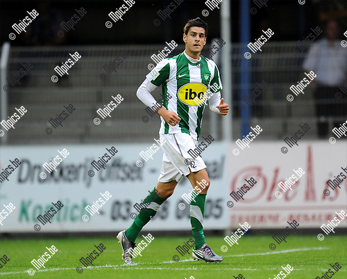 2011-08-17 / Voetbal / seizoen 2011-2012 / Rupel-Boom - Racing Mechelen / Emmanuel Spinelli..Foto: mpics
