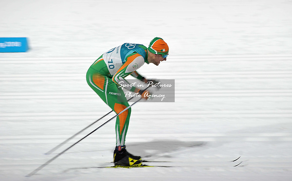 Thomas Maloney Westgaard (IRL). Mens sprint classic qualification. Cross country skiing. Alpensia Croos-Country skiing centre. Pyeongchang2018 winter Olympics. Alpensia. Republic of Korea. 13/02/2018. ~ MANDATORY CREDIT Garry Bowden/SIPPA - NO UNAUTHORISED USE - +44 7837 394578