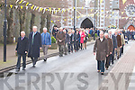 Kerry County council gave a Guard of Honour at Sean Crispie's Funeral