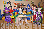 Feileacan Pre-School Halloween Party: Pupils attending Feileacan Pre School at the St Senan' Centre in Mountcoal, Liatowell having their Halloween party prior to going on mid term break. L-R eabha Trant,  Katie Trant, Luke Sheridan, Morgan McCarthy, Michael Houlihan, Harry O'Sullivan, Brian Cahill, Ruairi Linneane & Megan Kennelly.