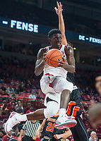 NWA Democrat-Gazette/BEN GOFF @NWABENGOFF <br /> Adrio Bailey of Arkansas in the second half vs Tusculum Friday, Oct. 26, 2018, during an exhibition game in Bud Walton Arena in Fayetteville.
