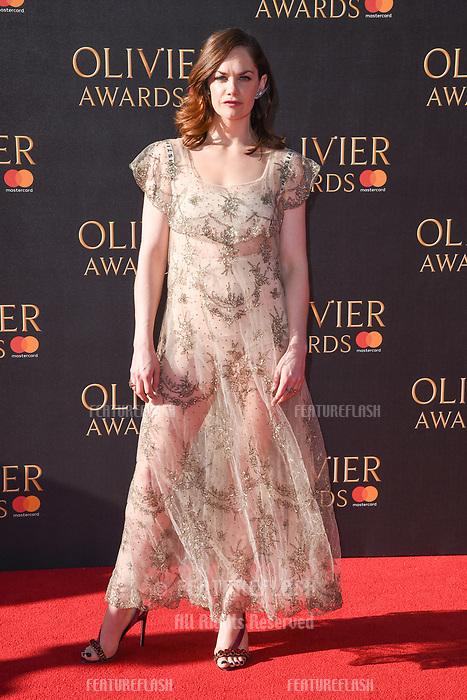 Ruth Wilson at The Olivier Awards 2017 at the Royal Albert Hall, London, UK. <br /> 09 April  2017<br /> Picture: Steve Vas/Featureflash/SilverHub 0208 004 5359 sales@silverhubmedia.com