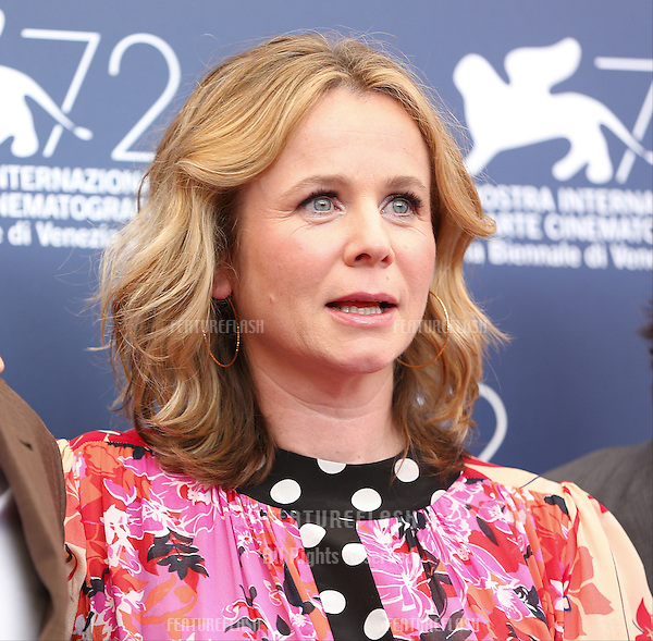 Emily Watson  at the photocall for Everest at the 2015 Venice Film Festival.<br /> September 02, 2015  Venice, Italy<br /> Picture: Kristina Afanasyeva / Featureflash