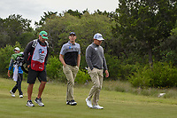 Seamus Power (IRL) heads down 1 during Round 2 of the Valero Texas Open, AT&T Oaks Course, TPC San Antonio, San Antonio, Texas, USA. 4/20/2018.<br /> Picture: Golffile | Ken Murray<br /> <br /> <br /> All photo usage must carry mandatory copyright credit (© Golffile | Ken Murray)