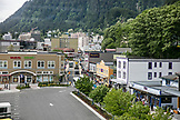 USA, Alaska, Juneau, a view of downtown Juneau