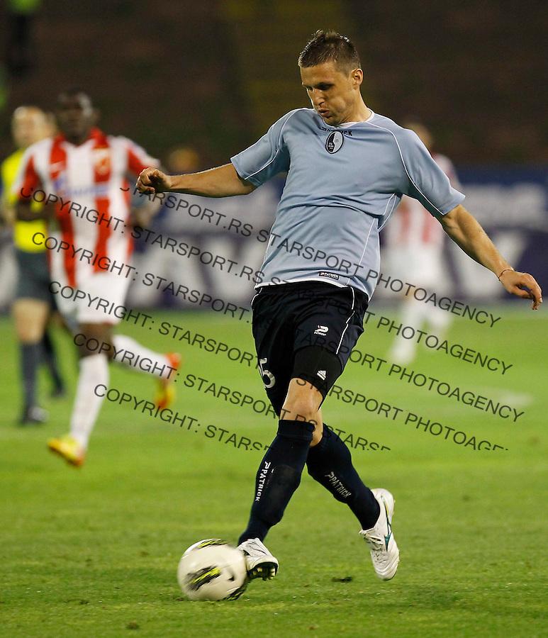 Fudbal, Jelen super liga, sezona 2011/12.Crvena Zvezda VS. Rad.Milan Mitrovic.Belgrade, 12.05.2012..foto: Srdjan Stevanovic/Starsportphoto ©