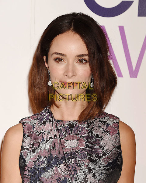 BEVERLY HILLS, CA - NOVEMBER 03: Actress Abigail Spencer attends the People's Choice Awards 2016 - Nominations Press Conference at The Paley Center for Media on November 3, 2015 in Beverly Hills, California.<br /> CAP/ROT/TM<br /> &copy;TM/ROT/Capital Pictures