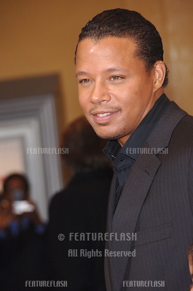 "TERRENCE HOWARD at the world premiere of ""The Pursuit of Happyness"" at the Mann Village Theatre, Westwood..December 7, 2006  Los Angeles, CA.Picture: Paul Smith / Featureflash"