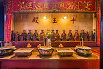 Ten Kings altar.  These Gods manage the Underworld and pass judgement on the dead.