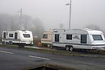 Caravans at M1 Retail Park