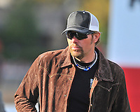 Country Music star Toby Keith owner of Reckless Jerry, was at Oaklawn Park Saturday afternoon to watch his horse compete in the Rebel Stakes. Reckless Jerry finished 10th in the 52nd running of the Rebel Stakes at Oaklawn Park in Hot Springs, Arkansas.