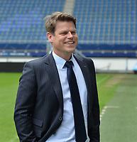 VOETBAL: HEERENVEEN: Abe Lenstra Stadion, 17-05-2018, SC Heerenveen, Presentatie nieuwe hoofdtrainer Jan Olde Riekerink, algemeen directeur Luuc Eisenga, ©foto Martin de Jong
