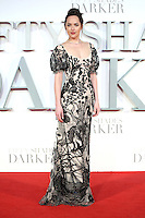 "Dakota Johnson<br /> at the ""Fifty Shades Darker"" premiere, Odeon Leicester Square, London.<br /> <br /> <br /> ©Ash Knotek  D3223  09/02/2017"