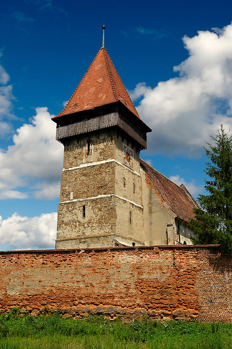 The Saxon Fortified Church of Brateiu, Transylvania
