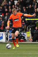 Stuart Armstrong in the St Mirren v Dundee United Clydesdale Bank Scottish Premier League match played at St Mirren Park, Paisley on 27.10.12.
