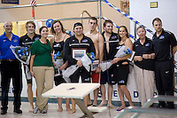 MSMC men and women's swimming.