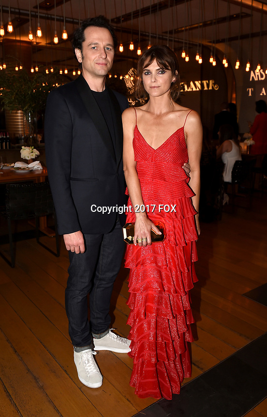 LOS ANGELES, CA - SEPTEMBER 16: (L-R) Matthew Rhys and Keri Russell attend the FX Networks and Vanity Fair 2017 Primetime Emmy Nominee Celebration at Craft LA on September 16, 2017 in Los Angeles, California. (Photo by Frank Micelotta/FX/PictureGroup)