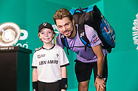 Rotterdam, The Netherlands, 16 Februari 2019, ABNAMRO World Tennis Tournament, Ahoy, Semis, Stan Wawrinka (SUI),<br /> Photo: www.tennisimages.com/Henk Koster