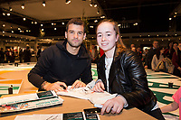 ABN AMRO World Tennis Tournament, 12 Februari, 2018, Tennis, Ahoy, Rotterdam, The Netherlands, Grigor Dimitrov (BUL)<br /> <br /> Photo: www.tennisimages.com