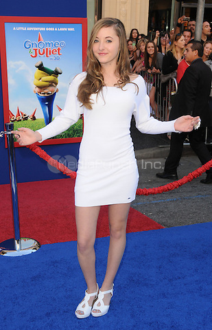 """Rachel Fox at the world premiere of """"Gnomeo & Juliet""""  at the El Capitan Theatre in Hollywood, CA, USA.January 23, 2011 © mpi11 / MediaPunch Inc."""