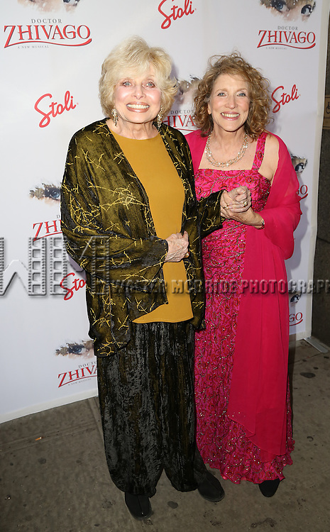 Joanna Simon and Lucy Simon attends the Broadway Opening Night Performance of  'Doctor Zhivago'  at  The Broadway Theatre on April 21, 2015 in New York City.