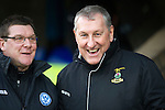 St Johnstone v Inverness Caley Thistle..29.12.12      SPL.Tommy Wright and Terry Butcher.Picture by Graeme Hart..Copyright Perthshire Picture Agency.Tel: 01738 623350  Mobile: 07990 594431