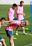Atletico de Madrid's Antoine Griezmann during training session. September 26,2017.(ALTERPHOTOS/Acero)