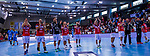 Freude nach Sieg in Stuttgart gegen den TVB 1898 - Bergischer HC beim Spiel in der Handball Bundesliga, TVB 1898 Stuttgart - Bergischer HC.<br /> <br /> Foto © PIX-Sportfotos *** Foto ist honorarpflichtig! *** Auf Anfrage in hoeherer Qualitaet/Aufloesung. Belegexemplar erbeten. Veroeffentlichung ausschliesslich fuer journalistisch-publizistische Zwecke. For editorial use only.