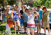 Incoming first-years move in and are welcomed to Oxy during Orientation at the start of the fall semester, August 24, 2013 at Occidental College. (Photo by Marc Campos, Occidental College Photographer)