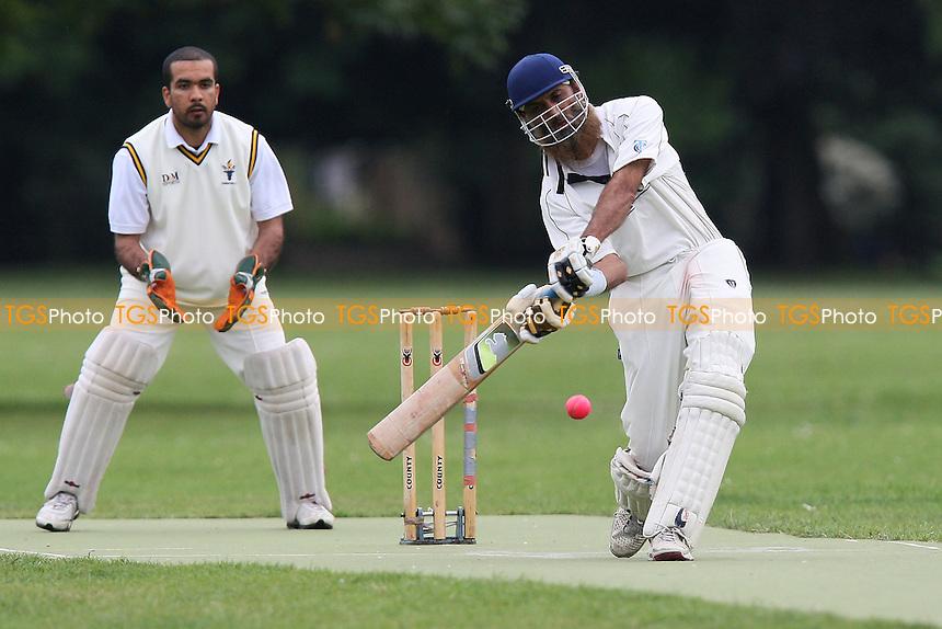 Sky CC (batting) vs Caledonian Conquerors CC - Victoria Park Community Cricket League - 12/07/11 - MANDATORY CREDIT: Gavin Ellis/TGSPHOTO - Self billing applies where appropriate - Tel: 0845 094 6026 - contact@tgsphoto.co.uk