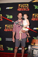 "Brady Smith, Harper Smith<br /> at the premiere of ""Star Wars Rebels,"" AMC Century City, Century City, CA 09-27-14<br /> David Edwards/DailyCeleb.com 818-915-4440"