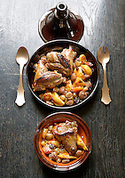 Lamb tagine with chestnuts