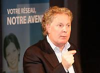 Jean Charest, Quebec Premier - Premier Ministre du Quebec<br /> Photo : Delphine Descamps  (c) 2006 Images Distribution
